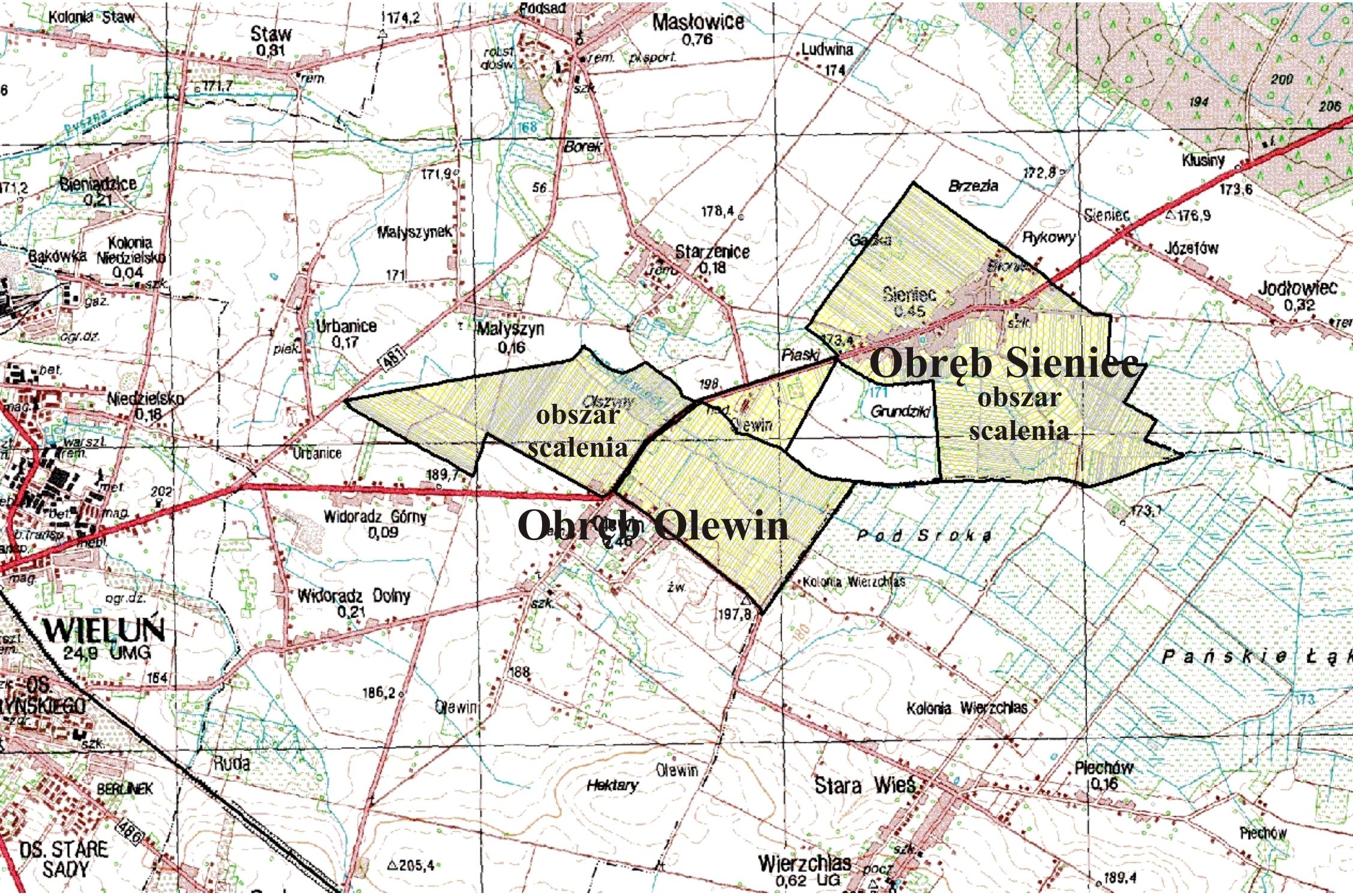 prow 2014-2020 - obiekt scaleniowy Olewin-Sieniec