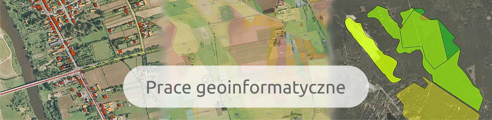 Prace geoinformatyczne